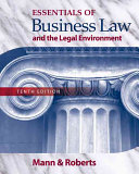 Essentials Of Business Law And The Legal Environment Book PDF