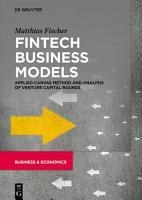 Fintech Business Models PDF