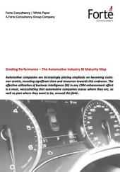 Grading Performance – The Automotive Industry BI Maturity Map