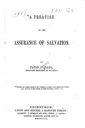 A treatise on the assurance of salvation. ...