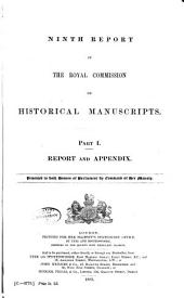 Report of the Royal Commission on Historical Manuscripts: Issue 9