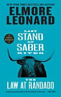 Last Stand at Saber River and The Law at Randado PDF