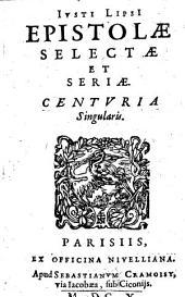 Epistolae selectae et seriae centuria singularis