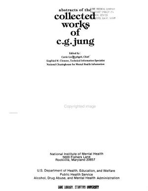 Abstracts of The collected works of C G  Jung c  2