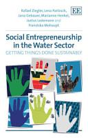 Social Entrepreneurship in the Water Sector PDF