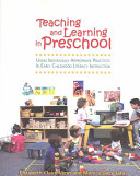 Teaching and Learning in Preschool PDF
