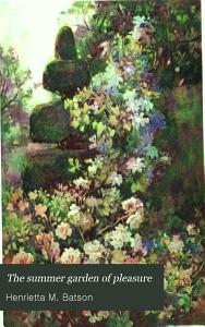 The Summer Garden of Pleasure Book