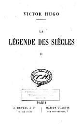 La légende des siècles: Volume2