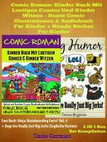 Comic Roman  Kinder Buch Mit Lustigen Comics Und Kinder Witzen   Bunte Comic Illustrationen   Audiobuch f  r Kinder   Hunde B  cher f  r Kinder PDF