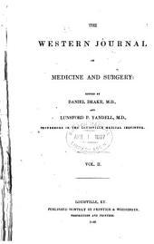 The Western Journal of Medicine and Surgery: Volume 2