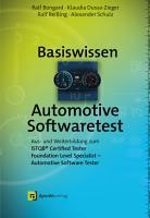 Basiswissen Automotive Softwaretest PDF