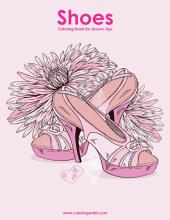 Shoes Coloring Book for Grown-Ups 1