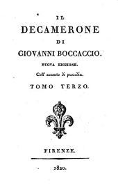 Il Decamerone di Giovanni Boccaccio: Volume 3