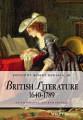 British Literature 1640 1789
