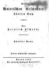 Baierische Geschichten: Fünftes Buch. 5