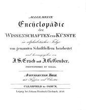 Allgemeine Encyklopädie der Wissenschaften und Künste: in alphabetischer Folge. Clearfield - Comum. 1 ,18