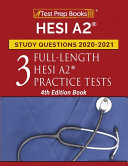 HESI A2 Study Questions 2020 2021