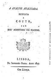 An analyse analysada: reposta a Couto