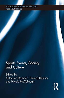 Sports Events  Society and Culture