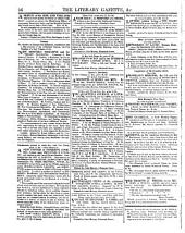 The Literary Gazette: A Weekly Journal of Literature, Science, and the Fine Arts, Volume 4