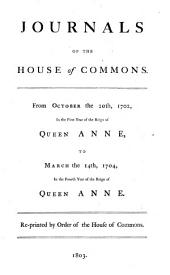 Journals of the House of Commons: Volume 14