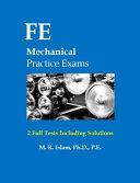 FE Mechanical Practice Exams PDF