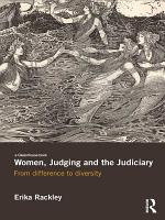 Women  Judging and the Judiciary PDF
