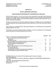 Dental Laboratory Technology PDF