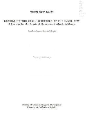 Rebuilding the Urban Structure of the Inner City PDF
