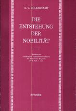 Die Entstehung der Nobilit  t PDF
