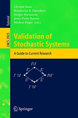 Validation of Stochastic Systems PDF