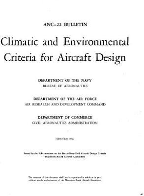 Climatic and Environmental Criteria for Aircraft Design PDF