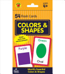 Colors and Shapes Flash Cards Book