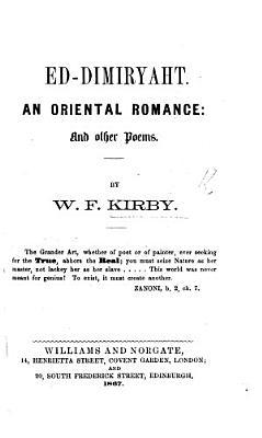 Ed Dimiryaht  an Oriental Romance PDF