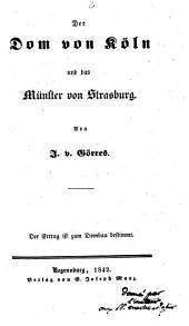 Der Dom von Koln und das Munster von Strasburg