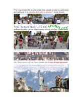 The Architecture of Mobility PDF