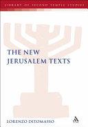 The New Jerusalem Texts