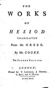 The Works of Hesiod