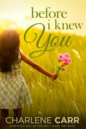 Before I Knew You: A Novella Full of Thought, Heart, and Hope