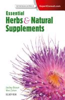 Essential Herbs and Natural Supplements PDF