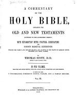 A Commentary on the Holy Bible, Containing the Old and New Testaments According to the Authorized Version