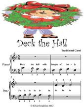 Deck the Hall - Beginner Tots Piano Sheet Music