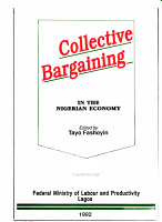 Collective Bargaining in the Nigerian Economy PDF