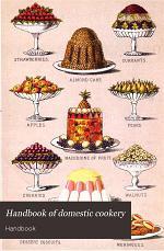 Handbook of domestic cookery