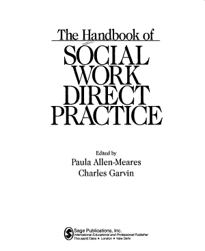 The Handbook of Social Work Direct Practice PDF