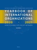 Yearbook of International Organizations 2020 2021  Volume 6 PDF