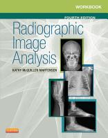 Workbook for Radiographic Image Analysis   E Book PDF