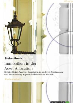 Immobilien in der Asset Allocation PDF