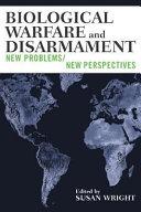 Biological Warfare and Disarmament