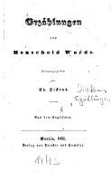 Erz  hlungen aus Household words PDF